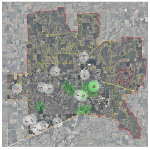 mckinney map